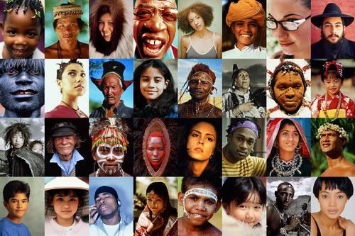 Лица людей